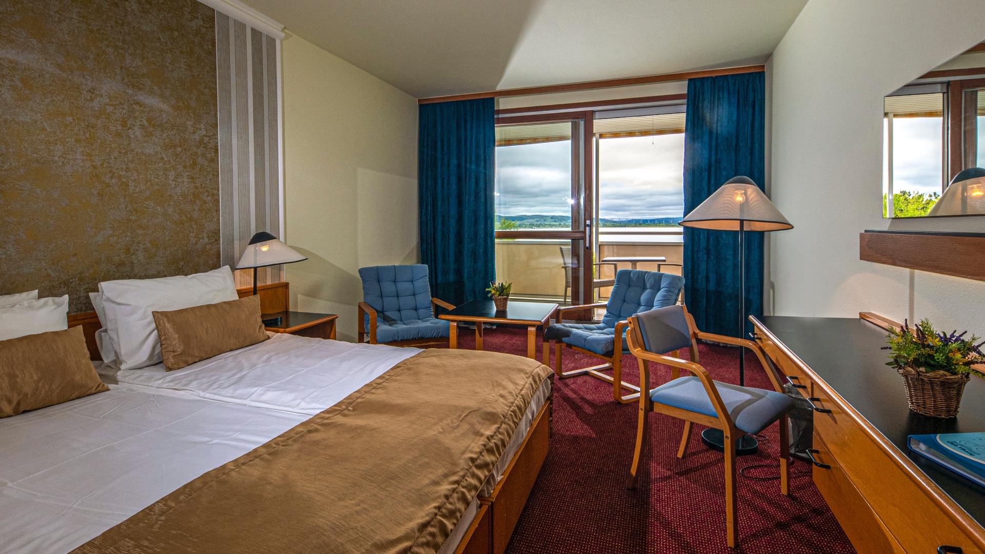 Hotel Club Tihany Deluxe szoba